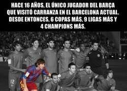 Enlace a Messi vuelve al Martínez Carranza 16 años despues.