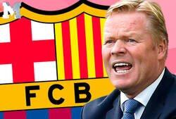 Enlace a Koeman ha tenido el peor arranque de liga de los últimos 6 entrenadores del Barça