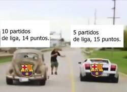 Enlace a El Barça solo está en una competición esta temporada