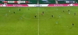 Enlace a Polémica en Alemania por el gol que anotó Wamangituka del Stuttgart tomando como burla al rival