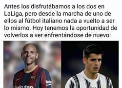 Enlace a Ah, y Messi y Cristiano también se enfrentan...