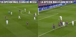 Enlace a Es más facil ser Cristiano que Messi