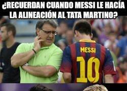 Enlace a Messi hará de entrenador nuevamente