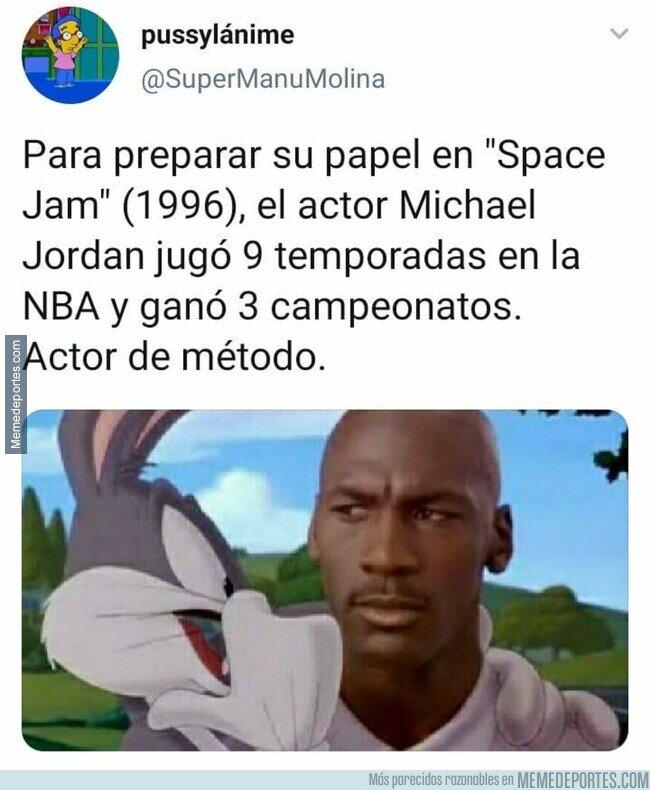 1123002 - Increíble la profesionalidad de Michael Jordan