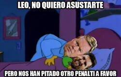 Enlace a Messi cada vez que le toca lanzar un penalti