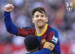Enlace a Messi alcanza a Pelé como jugador con más goles con un solo club