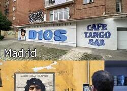 Enlace a Murales de Maradona alrededor del mundo