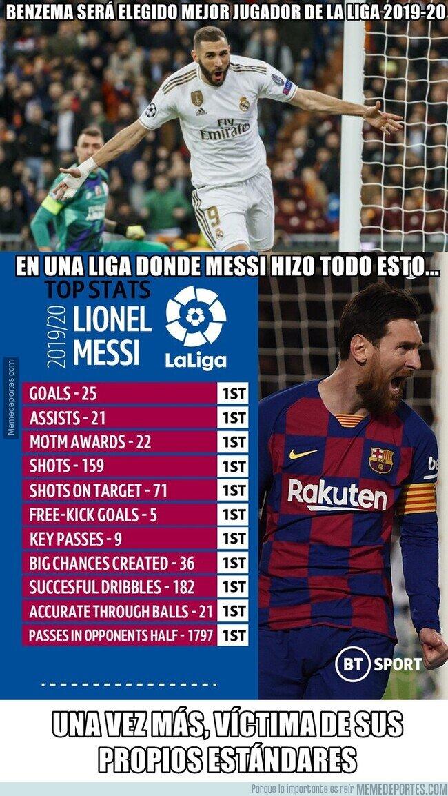 1123421 - Nunca es suficiente para Messi. Se le exige como a ningún otro