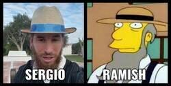 Enlace a Sergio Ramos sería un buen leñador Amish