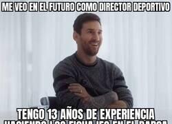 Enlace a Lo que será Messi cuando se retire