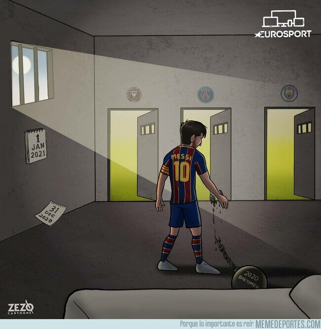 1124293 - Messi ya es libre de decidir su futuro, por @zezocartoons