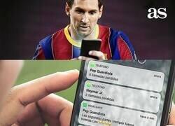 Enlace a El teléfono de Messi