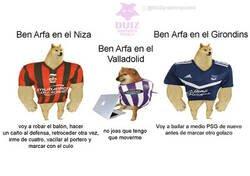 Enlace a Ben Arfa continúa sorprendiendo fuera de Valladolid