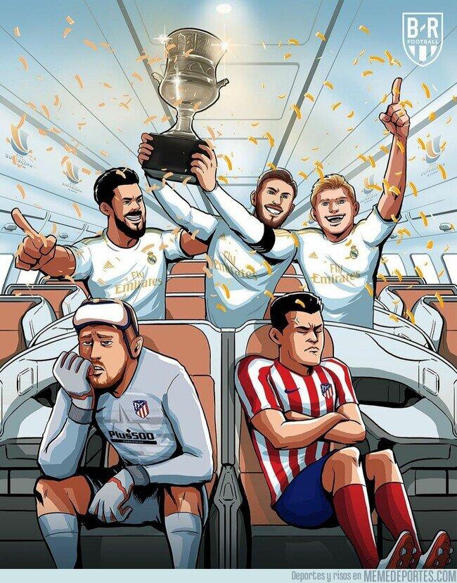 1125076 - Se cumple 1 año de la victoria del Madrid ante el Atlético en la última Supercopa, por @brfootball