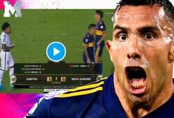Enlace a Tévez había prometido cambiarse la camisa con él al final del partido. Después de recibir tres goles y ser eliminado de Libertadores, el