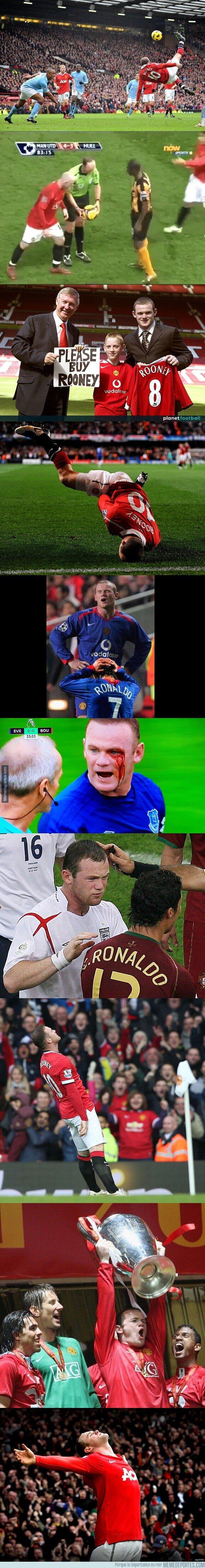 1125458 - El Gran Wayne Rooney en imágenes. Vaya carrera.