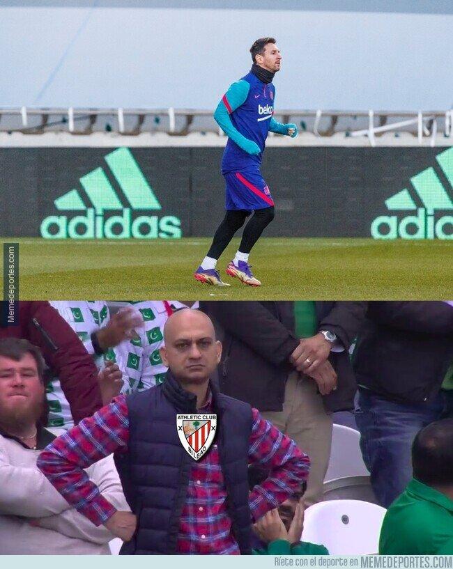 1125476 - Messi ya se entrena