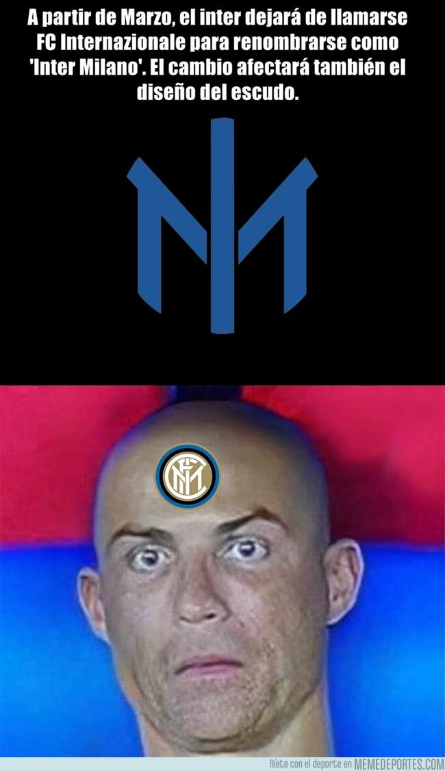 1125708 - Tristes noticias: Se han cargado el escudo y nombre del Inter