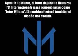 Enlace a Tristes noticias: Se han cargado el escudo y nombre del Inter
