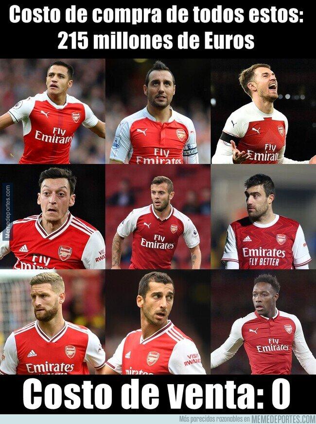 1125878 - El Arsenal no es muy espabilado para hacer negocios