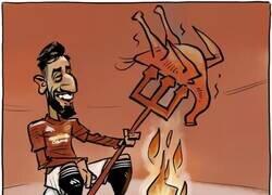 Enlace a Bruno Fernandes cocinó al Liverpool, por @goalenespanol