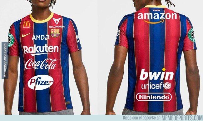 1126388 - La nueva camiseta del Barça para salir de la crisis