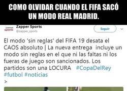 Enlace a El modo 'Real Madrid' del FIFA