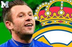 Enlace a Todo el mundo se está riendo de Cassano por lo que cuenta como ganó 14kg en el Real Madrid