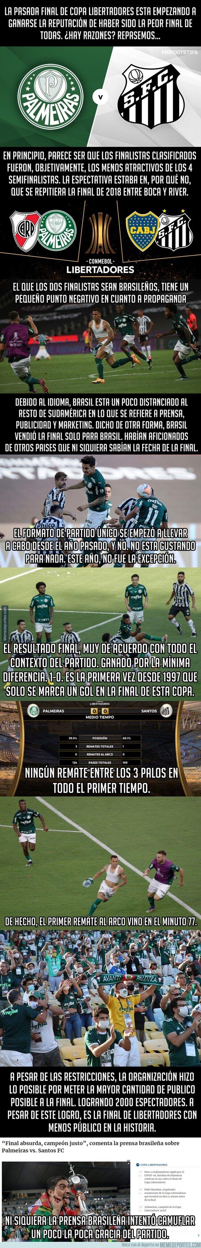1126780 - ¿Fue esta final de Copa Libertadores la peor de todas?