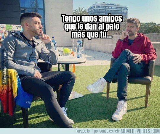 1127033 - La interesante conversación entre Piqué y DjMariio