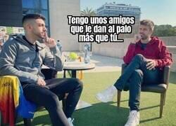 Enlace a La interesante conversación entre Piqué y DjMariio