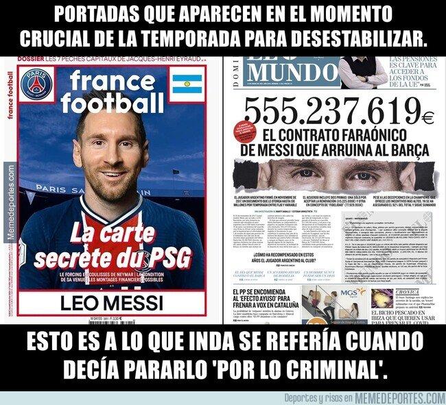 1127307 - Messi debe regatear obstaculos fuera del campo también