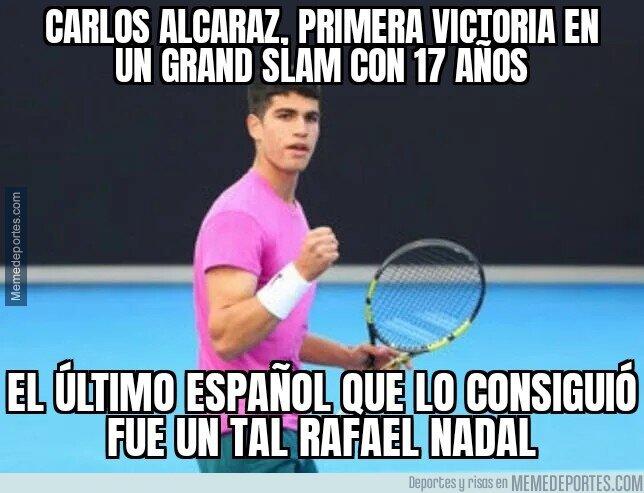 1127415 - La perla del tenis español, Carlos Alcaraz