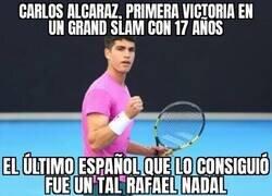 Enlace a La perla del tenis español, Carlos Alcaraz