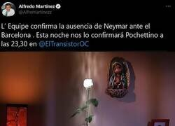 Enlace a Al Barça se le ha aparecido la virgen