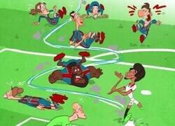 Enlace a El todavía inexplicable gol de Koundé