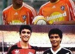 Enlace a Algunas coincidencias de brasileños cuando estaban en su liga.