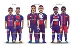 Enlace a Grandes jugadores compartidos por el PSG y Barcelona
