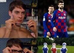 Enlace a Menuda defensa del Barça...