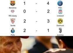 Enlace a Valió la pena esperar tanto para el regreso de la Champions