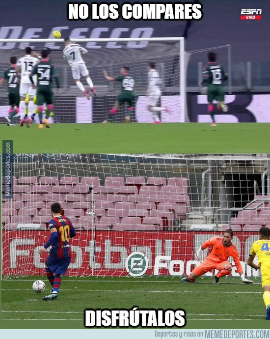 1128610 - Cristiano y Messi siguen en lo suyo