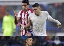 Enlace a El día que el Madrid usó una camiseta hecha de plástico reciclado y quedó completamente blanca por la lluvia.