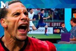 Enlace a No tiene desperdicio: La anécdota de Rio Ferdinand y lo mal que lo pasó intentando marcar a Messi