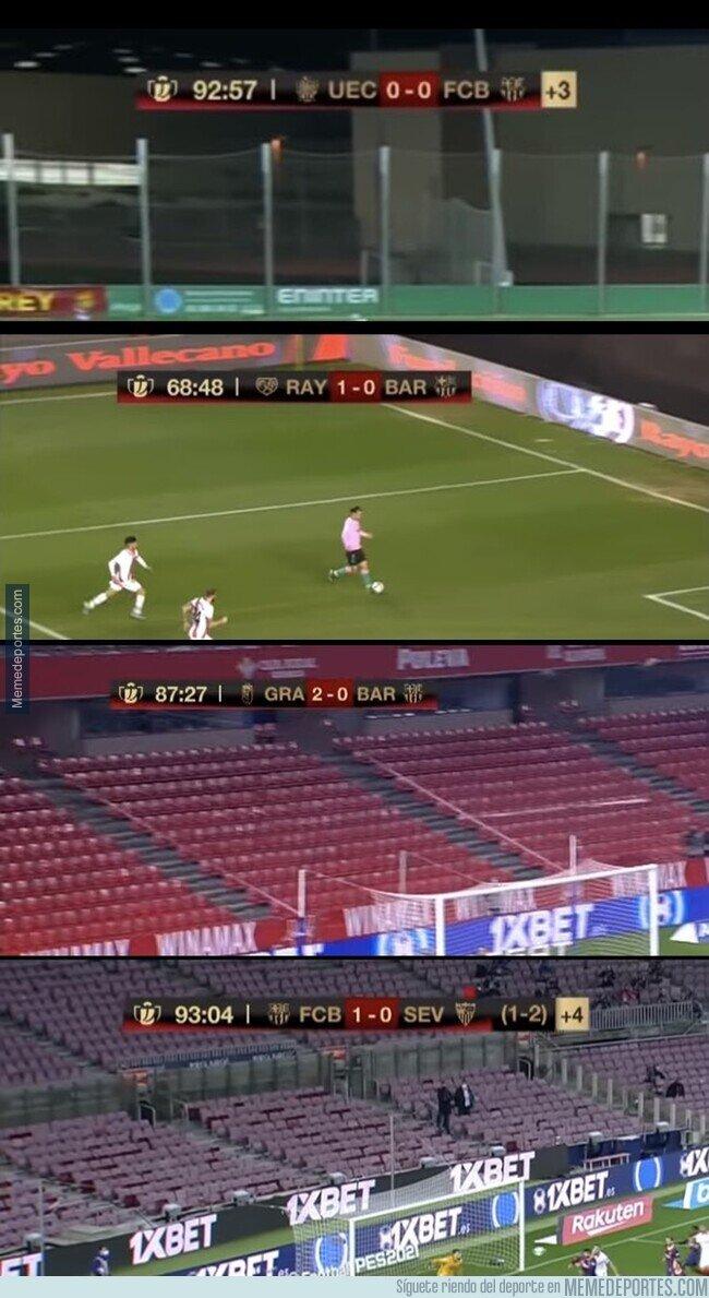 1129343 - El duro camino del Barça a esta final de Copa. Una locura.