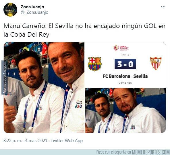 1129526 - Manu Carreño con otro dato del Sevilla