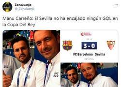 Enlace a Manu Carreño con otro dato del Sevilla