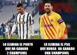Enlace a Cristiano vuelve a ser mejor que Messi hasta perdiendo