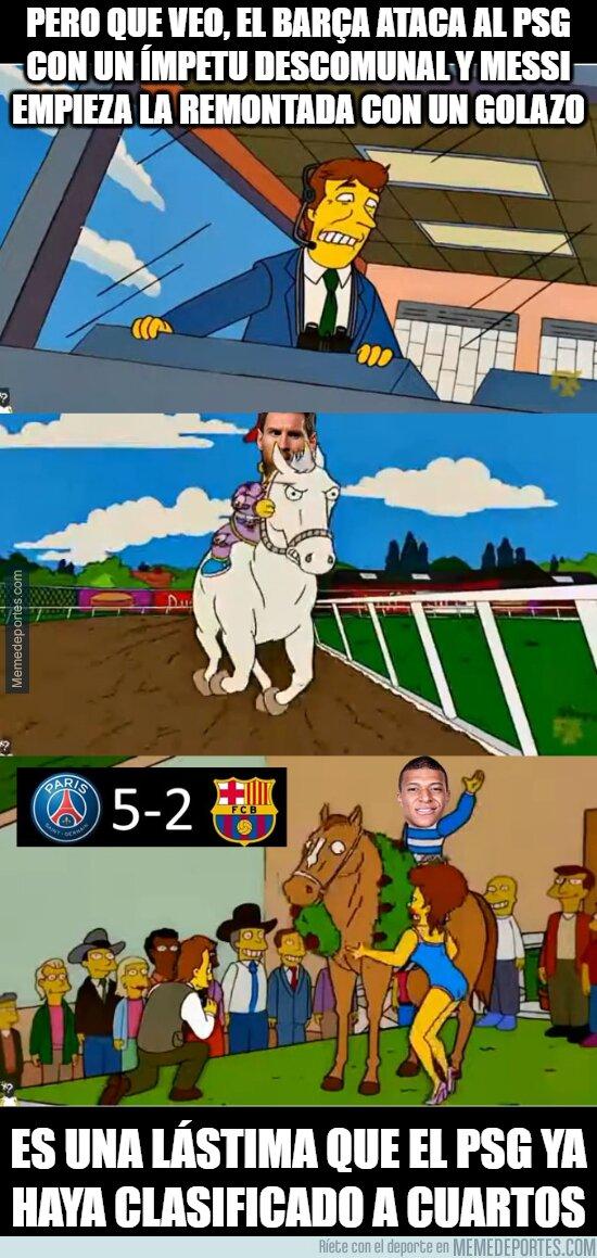 1129996 - Casi Barça, solo faltaron 4 goles pero casi
