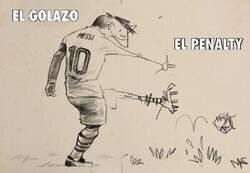 Enlace a Messi frente al PSG
