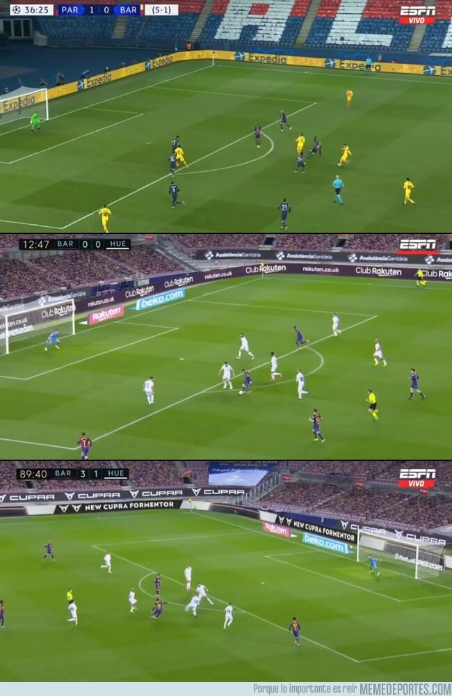 1130386 - La posición de Messi en sus últimos 3 goles. ¿Se volvió un especialista?